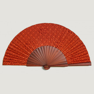 Fan Swastika Naga Red